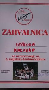 3. Majski dani kulture u Jabukovcu.