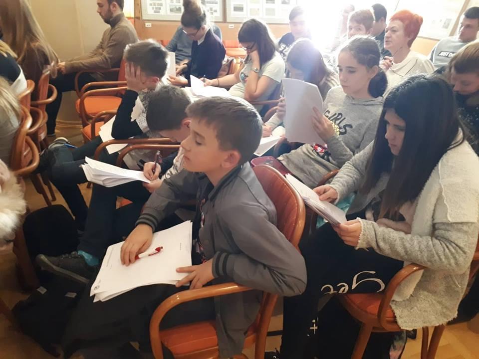 Впервые в Хорватии состоялся «Географический диктант»