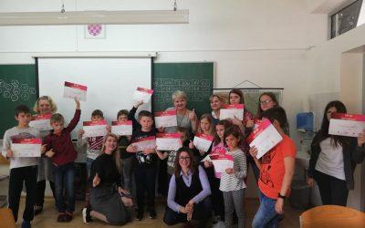 Проект «Русский язык для всех» с учениками русской школы города Чаковец.