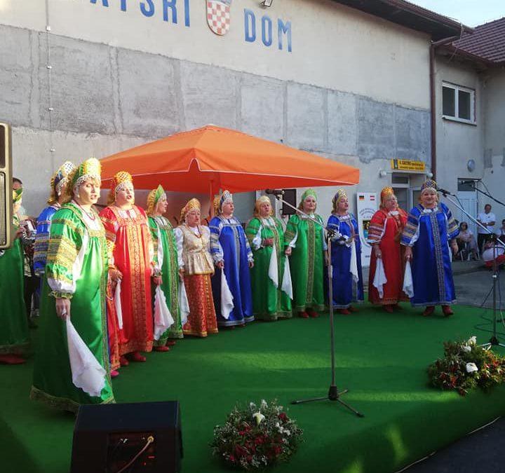 Sirač. IV. Gastro manifestacija nacionalnih manjina. Udruga Nijemaca i Austrijanaca Sirač .