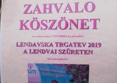 Slovenija 40. Lendavski trgatev 2019