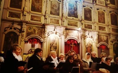 Рождественский вечер в православной церкви в г.Вараждине
